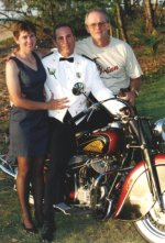 Ken's friend Kate, Ken, Jim Parker and 47 Chief